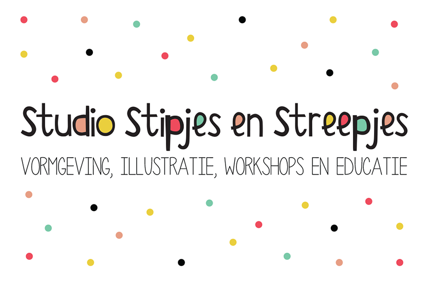 Visitekaart Studio Stipjes en Streepjes_voor