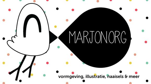 Marjon van Stijn – Vormgeving, illustratie, naaisels & meer