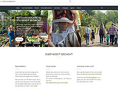 Website Volkstuin Nooit Gedacht