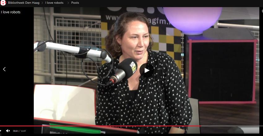 Week van de mediawijsheid Marjon van Stijn op de radio Studio Stipjes en Streepjes