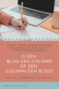 Columns of blogs?